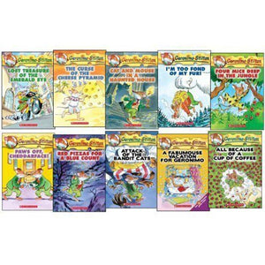 Geronimo Stilton #01-10 books - mamaishop