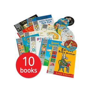 Make time for a story 10 book and DVD