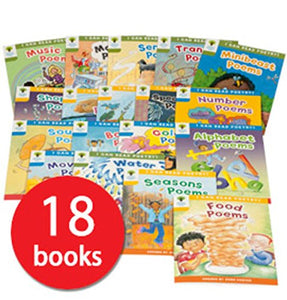 Oxford Reading tree poetry 18 books - mamaishop