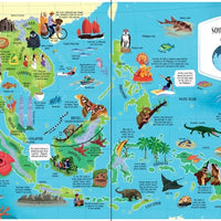 Usborne Big Picture Atlas (Hardback)
