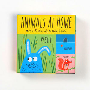 Animals at Home Matching Game - mamaishop