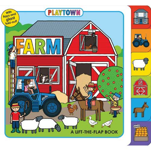 Playtown: Farm 硬頁書