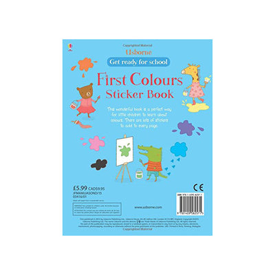 First color sticker book