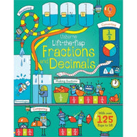 Lift the Flap Fractions and Decimals - mamaishop