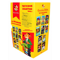 Geronimo Stilton Series 1 Collection 10 Books Box Set