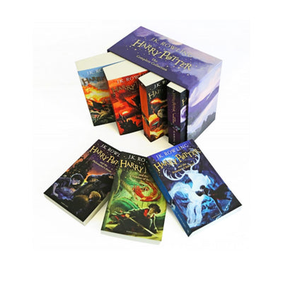 Harry Potter x 7 books slipcase with shrinkwrap