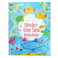 Usborne Wipe-clean Activity Book Set(6 Books) - mamaishop