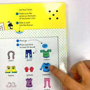 Usborne listen and learn first english words - mamaishop