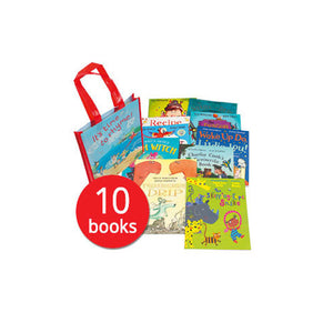 It's Time to Rhyme x 10 books in a Full Colour Bag