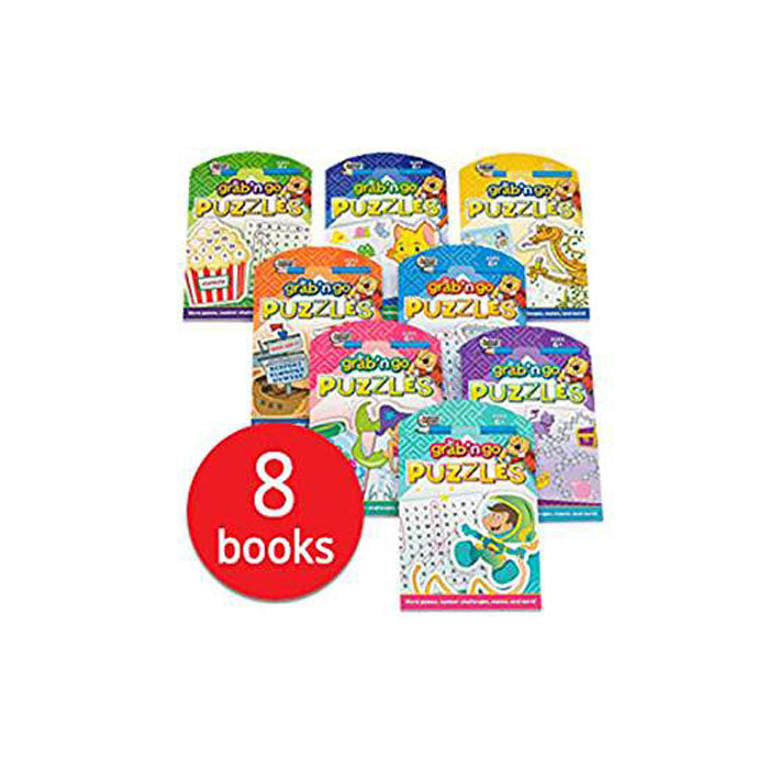 Junior Grab 'n Go Puzzles x 8 book - mamaishop