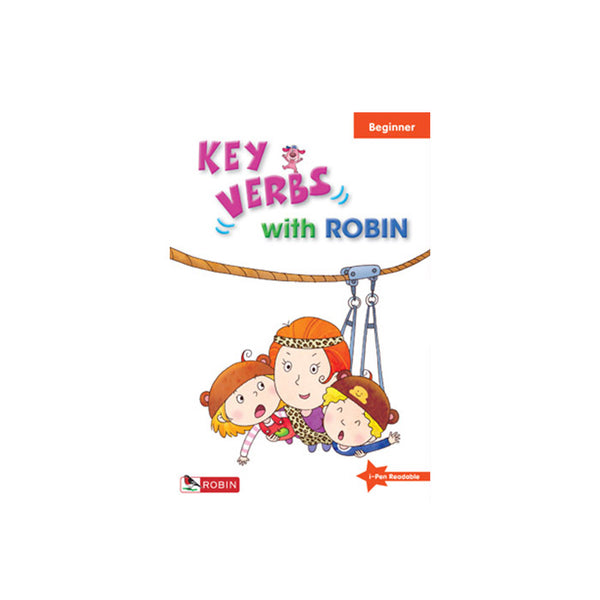 Key Verbs with Robin -- Beginner - mamaishop