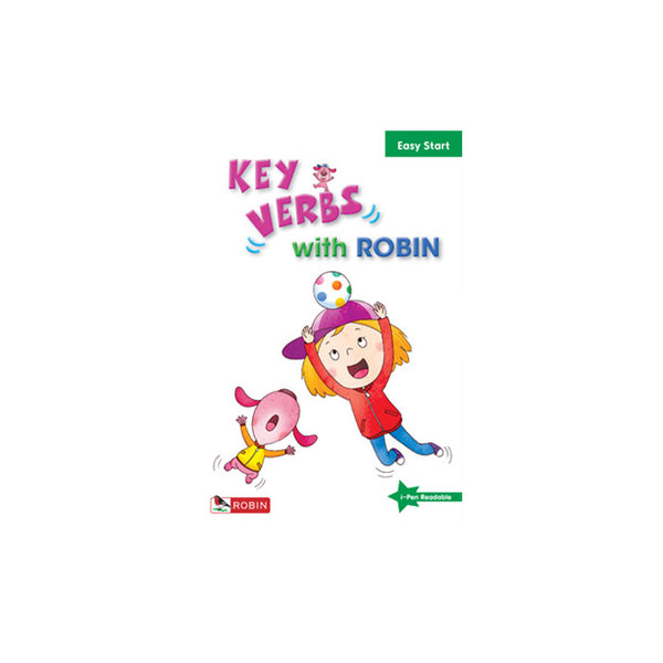 Key Verbs with Robin -- Easy Start - mamaishop
