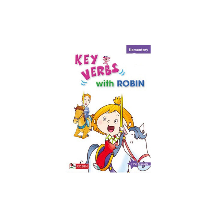 Key Verbs with Robin -- Elementary - mamaishop
