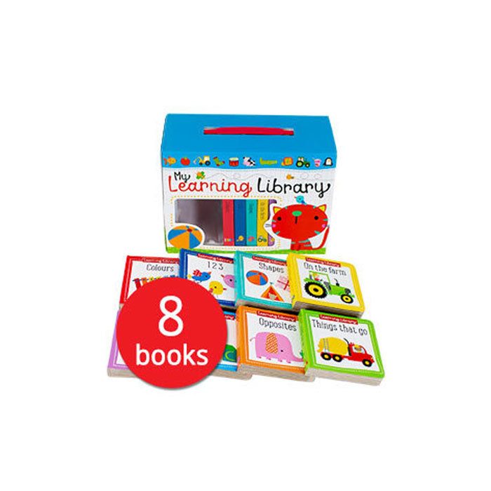 Learning Library x 8 BB in a box - mamaishop