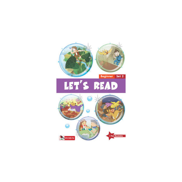 Let's Read - Beginner Set 2 (Books 6-10) - mamaishop