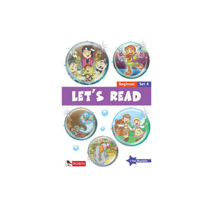 Let's Read - Beginner Set 4 (Books 16-20) - mamaishop