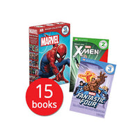 Marvel Readers x 15 books (New Selection)