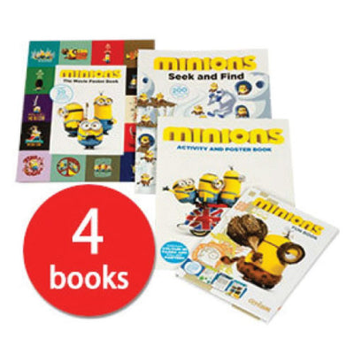 Minions Activity Book Collection - 4 Books