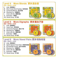 Phonics kids Level 4-6 (品牌直送)