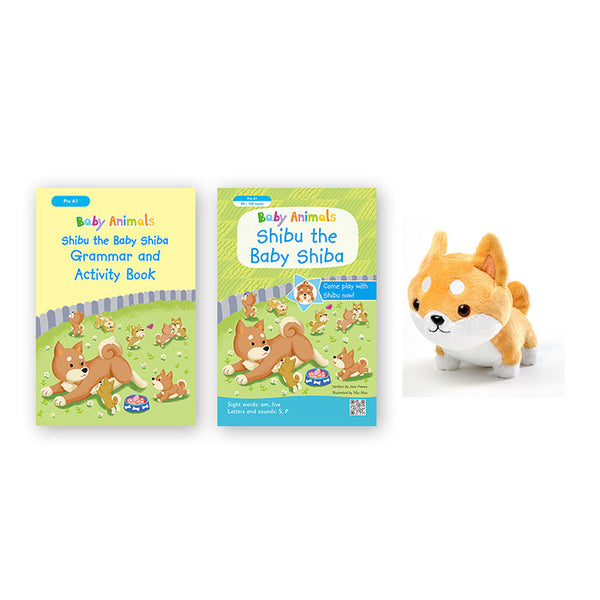 Robin Education Baby animal (2 sets 選擇) - mamaishop