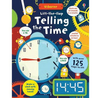 Lift the Flap: Telling the Time - mamaishop
