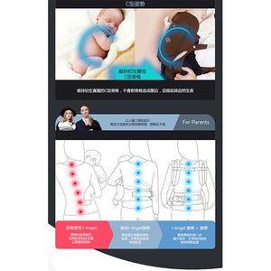 4 in 1 Hip Seat + Carrier Miracle 四合一雙肩腰凳揹帶 - mamaishop