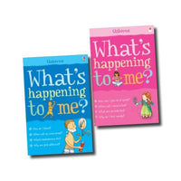 Usborne What's Happening To Me? 2 Book Set Collection For Boys And Girls Growing Up - mamaishop