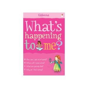 Usborne What's Happening To Me? 2 Book Set Collection For Boys And Girls Growing Up