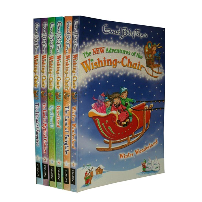 The New Adventures of the Wishing Chair Collection 6 Books Set Pack