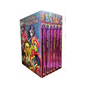 My Little Pony Story Collection Equestria Girls 6 Books