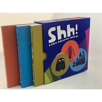 Shh!: A Chris Haughton (3 Books Boxed Set)