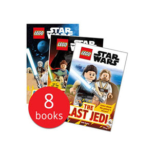 LEGO Star Wars Episode I-VIII: Readers Collection - 8 Books