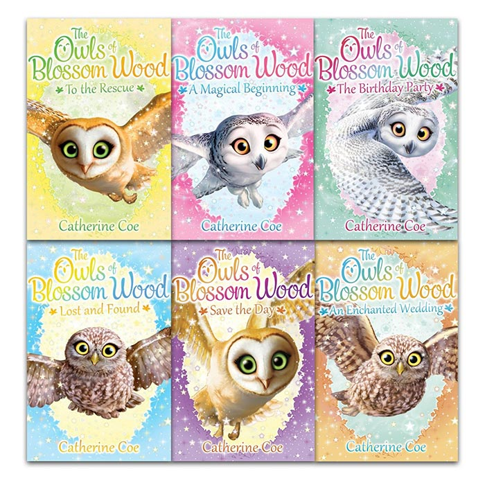 Owls of Blossom Wood Collection 6 Books - mamaishop