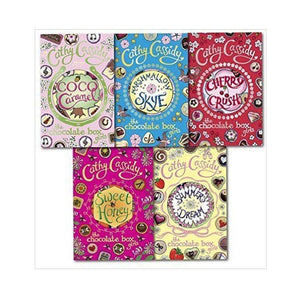 Chocolate Box Girls Collection Cathy Cassidy 5 Book Set - mamaishop