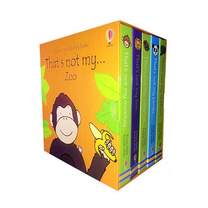 Usborne Touchy-Feely Books That's Not My Zoo 5 books - mamaishop