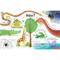 Usborne Life-the-flap Q & A About Animals