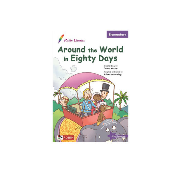 Robin Classics - Around the World in 80 Days - mamaishop