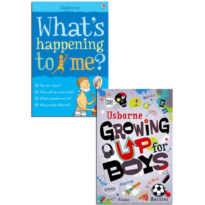 What's Happening to Me Growing Up for Boys Collection 2 Books Set