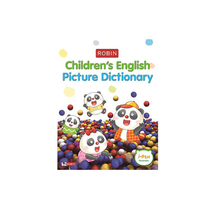 Robin Children's English-Chinese Picture Dictionary (Little iPen)