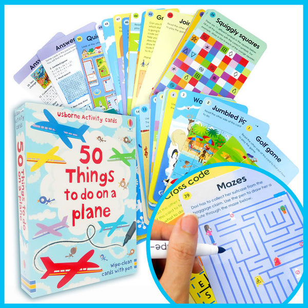 50 things to do on plane - mamaishop