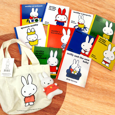 英文兒童圖書 Miffy Collection with Plush Toy 一套10本