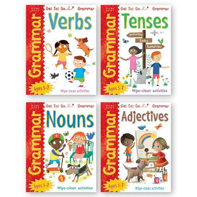 Get Set Go Grammar - 4 Books