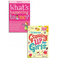 Whats Happening to Me? Growing Up for Girls Collection 2 Books Set