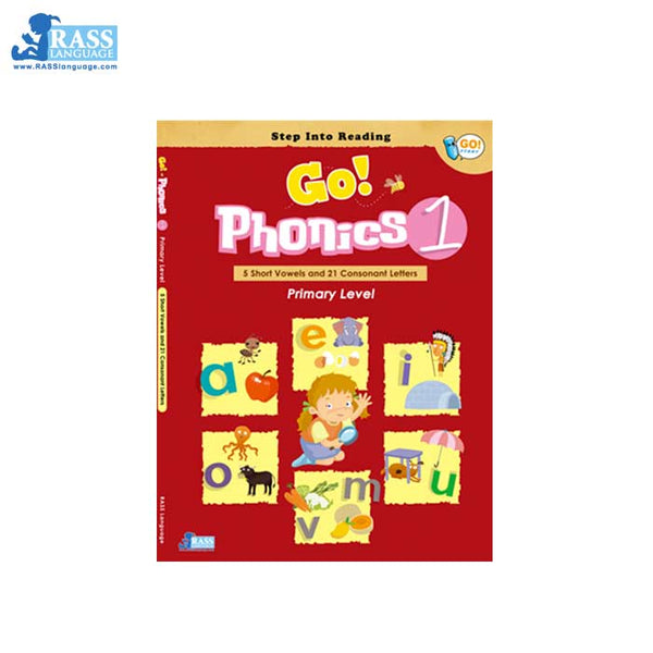 Go Phonics Level 1 (1Book+1DVD+2Posters) - mamaishop