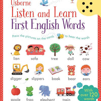 Usborne listen and learn first english words