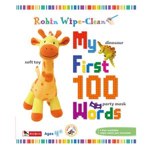 Wipe Clean 3: My First 100 Words