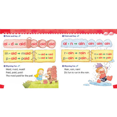 Phonics kids 5A + 5B (2 Books)