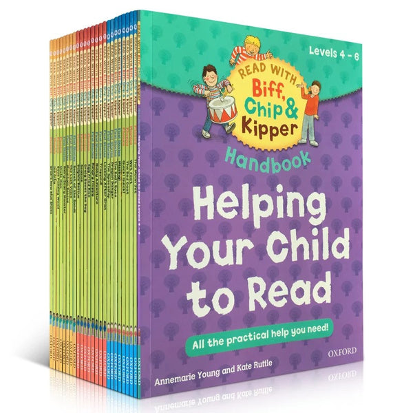 Read with Biff, Chip and Kipper Levels 4-6 Collection - 25 Books - mamaishop
