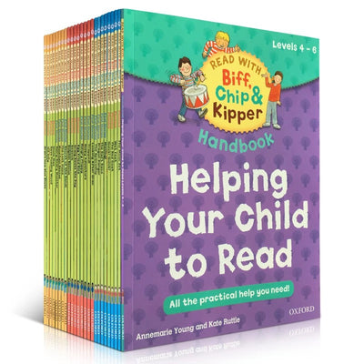 Read with Biff, Chip and Kipper Levels 4-6 Collection - 25 Books