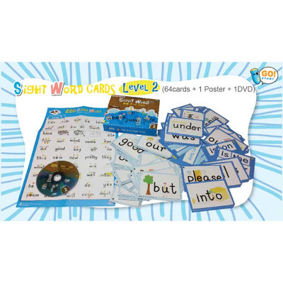Sight Word 64 Picture Cards Level 2 & 3
